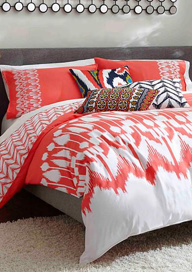 Trina Turk Hollyhock Ikat Bedding Collection