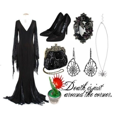 How to dress like...Morticia Addams