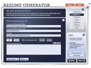 Preparing secondary students for the workplace is integral. Use Resume Generator to teach students the importance of written communication. In addition to real-world application, this tool can be used in connection with literature to develop deeper connections with characters.