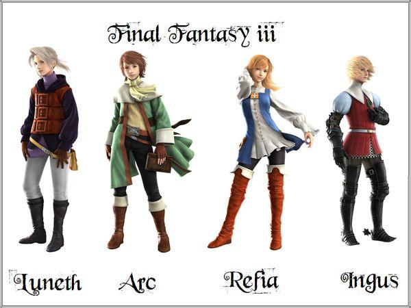 final fantasy 3 pelicula - Buscar con Google
