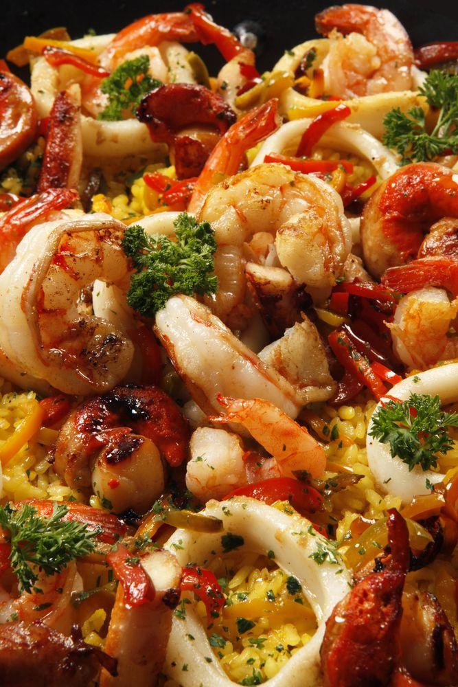 Great Seafood Paella Recipe