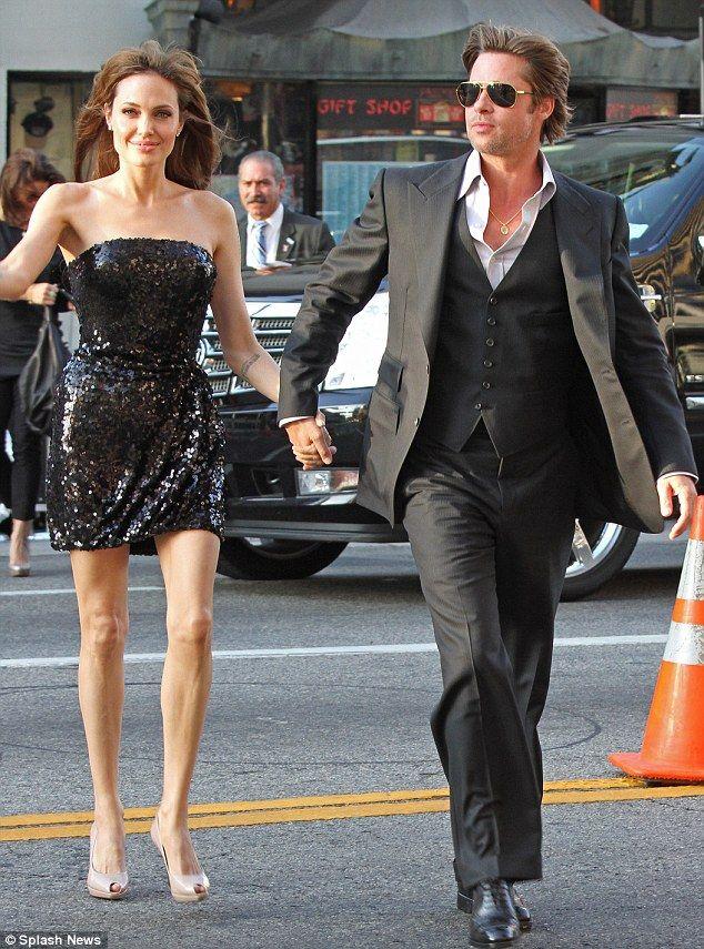 Who needs muscle power when you've got Brad Pitt?