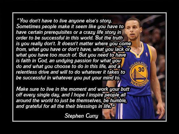 Basketball Motivation Stephen Curry Golden