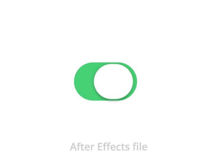 iOS7 Swith - free After Effects file.