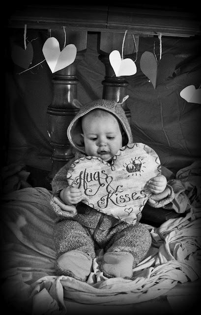 Baby Valentine Photo- so cute!