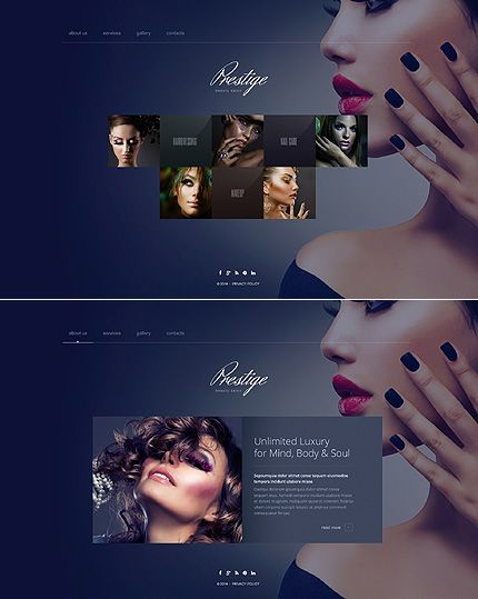 1000 ideas about salon website on pinterest website for Abc beauty salon