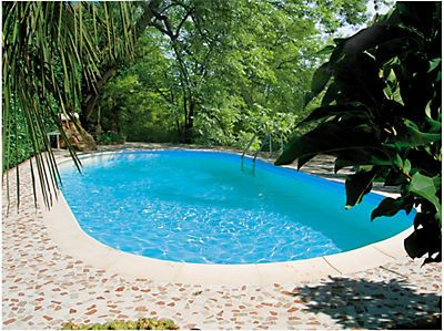 Hervorragend Best 20+ Ovalpool ideas on Pinterest | Poolbau, Schwimmbecken and  IN18
