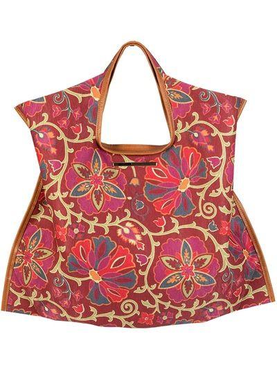 XAA Bolsa Vermelha Floral.