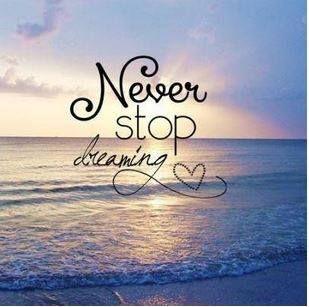 Nigdy nie przestawaj marzyć!   To marzenia popychają nas do przodu. Dzięki temu wymagamy od siebie i w końcu sięgamy celu.  Jakie jest Twoje największe marzenie?  #IlonaBMiles #marzenia #coaching