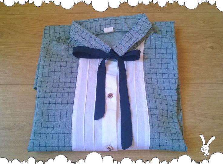 Luźna koszula w kratę też może być elegancka!
