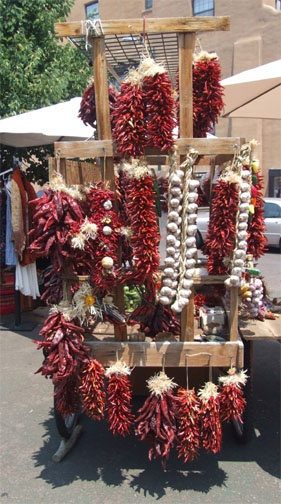 Red chile ristras, inherent part of our culture in NM