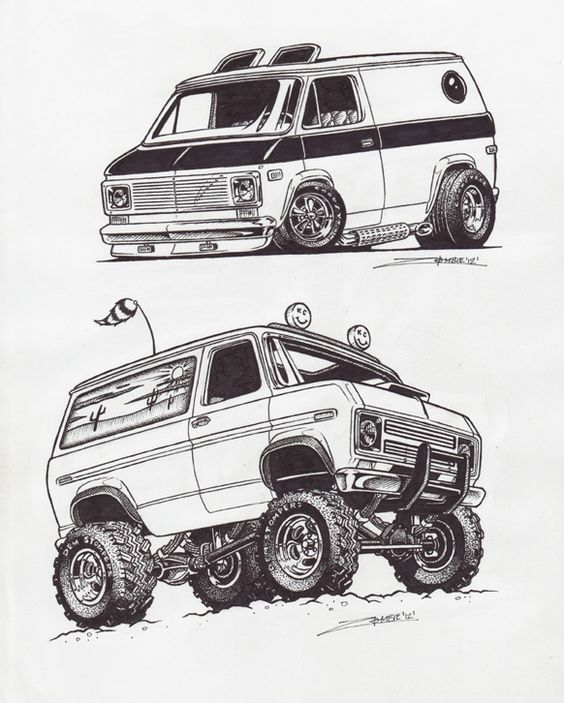 Car Drawings: 41 Best How To Draw Hot Rod & Cars Images On Pinterest