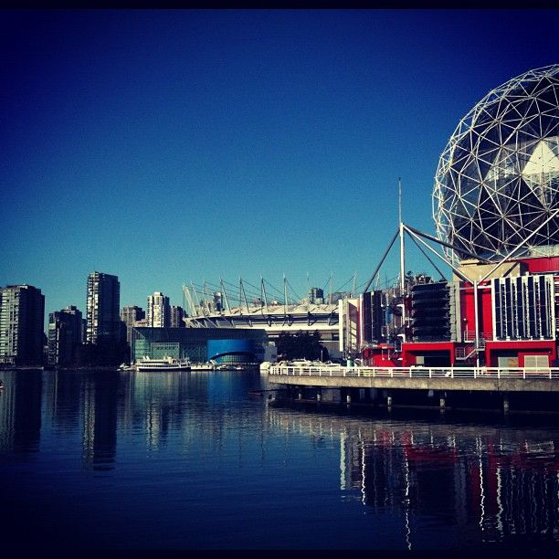 Science World at TELUS World of Science in Vancouver, BC