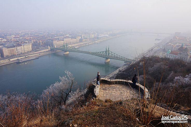 Panorámica de Budapest desde la Ciudadela.