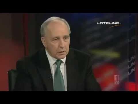 Tony Abbott Dunk Slam by Paul Keating