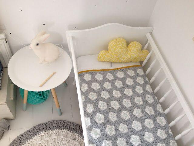 Ak at home : Crochet dekentje met gratis haakpatroon!