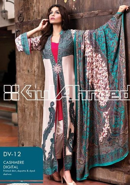 See Beautiful Gul Ahmed Fall Winter Dresses Collection 2016.Gul Ahmed is a trendy brand for pakistan,Gul Ahmed winter dresses for women and girls.