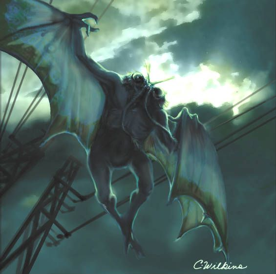 pictures of mythical flying creatures | 10 Legendary Monsters of North America: Part Two