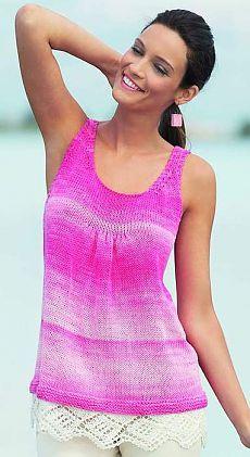 zomerblouse breinaalden | Pagina's in categorie zomer blouse breinaalden | blog baklykova