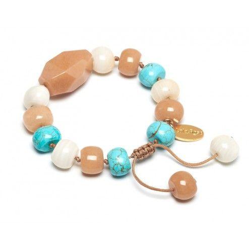 Lola Rose Emmanuel Oyster Quartzite & Blue Magnesite Bracelet