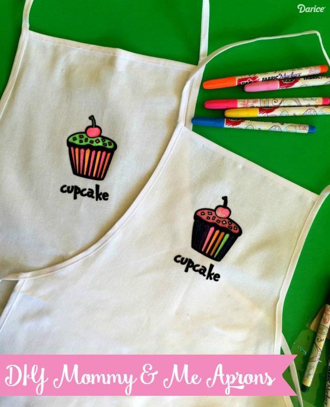 DIY-apron-parent-kid-matching-aprons-Darice-1