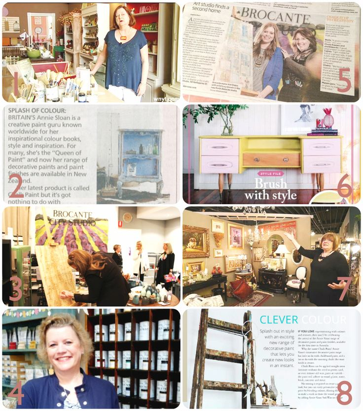 Annie Sloan Stockists In The News: June | Via The Palette Blog