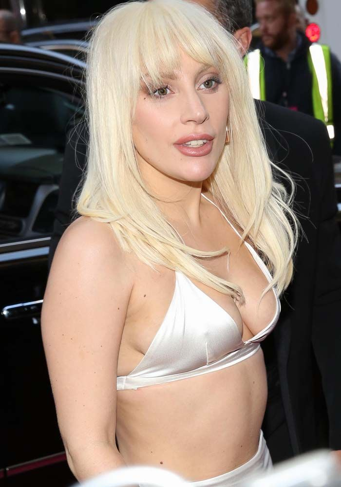 Lady Gaga Opens Up About Being Raped as a Teen at the Billboard Women in Music 2015 in Kay Goss and Platform Heels