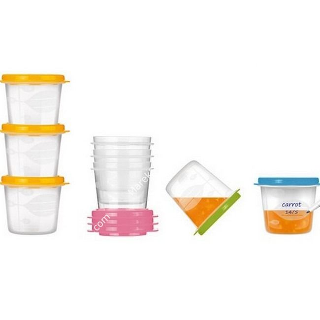 Pojemnik na jedzenie dla dzieci 250 ml - komplet 3 szt | TESCOMA BAMBINI