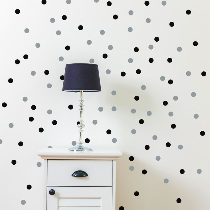 120/70 PCS 4cm and 6cm black tiny polka dots circle cycling round wall sticker for kitchen refrigerator bathroom decor,M2S1-in Wall Stickers from Home & Garden on Aliexpress.com | Alibaba Group