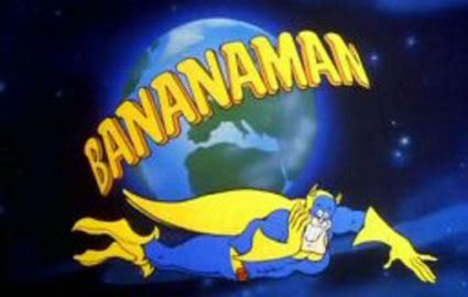 bananaman - 80s tv kids