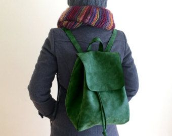 cool vegan backpack from a vegan etsy store in a lot of cool colors #vegan