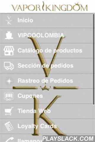 Vapor Kingdom  Android App - playslack.com , En Vapor Kingdom app podrás encontrar todo lo necesario para interactuar con la tienda virtual mas innovadora de Colombia. En ella podrás encontrar increíbles Secciones como:1. Sección de pedidos: Podrás hacer tus pedidos desde la comodidad de tu hogar o desde donde te encuentres simplemente accediendo a nuestra App Móvil.2. Cupones: Aquí encontrarás promociones y descuentos exclusivos de la aplicación de la tienda virtual mas innovadora del…