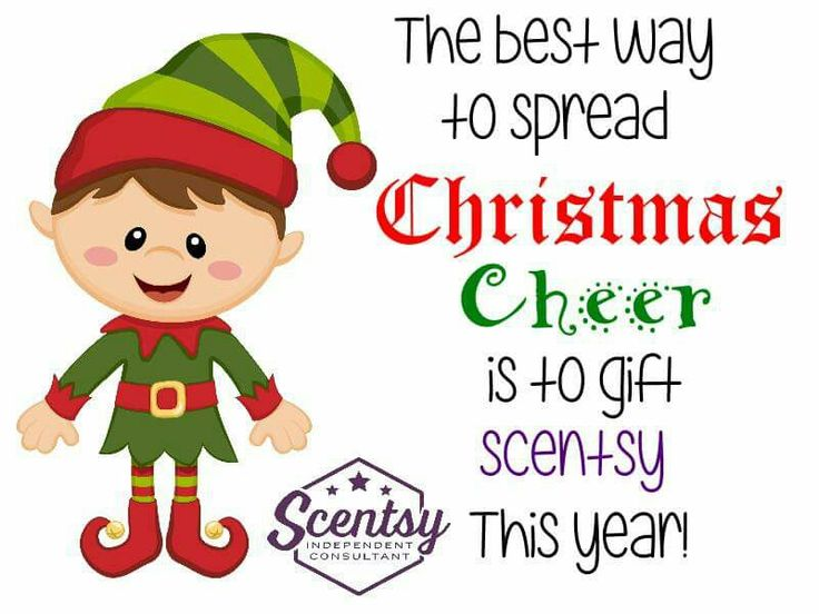 Christmas cheer  Start ordering your gifts today at www.scentsnsuch.scentsy.us