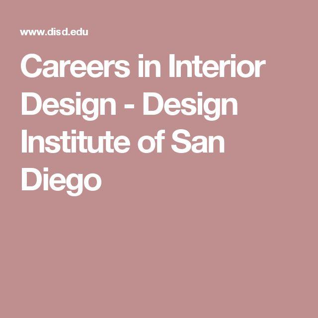 Careers in Interior Design - Design Institute of San Diego