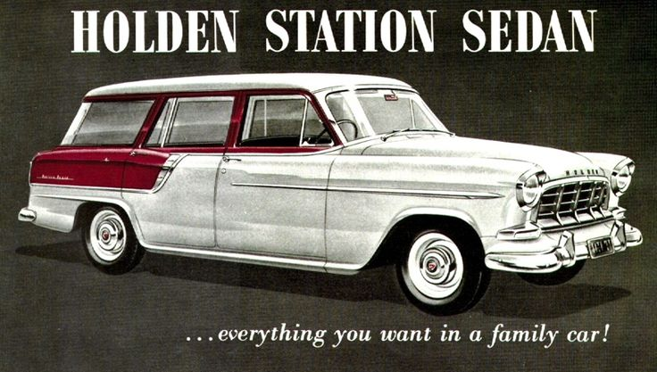 1959 Holden FC Station Sedan