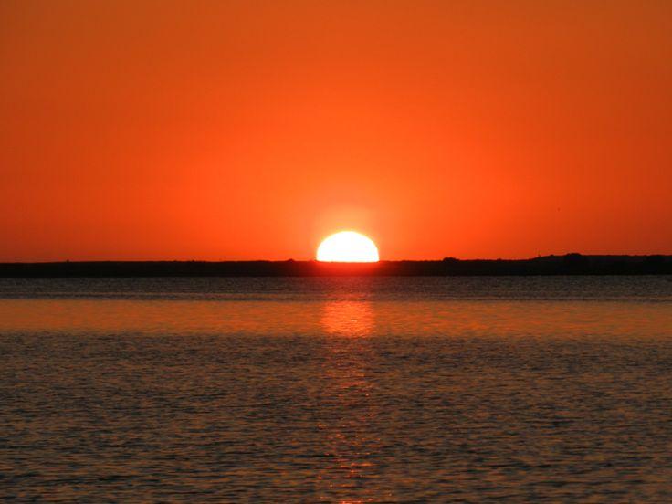 Ηλιοβασίλεμα στους Μύλους.