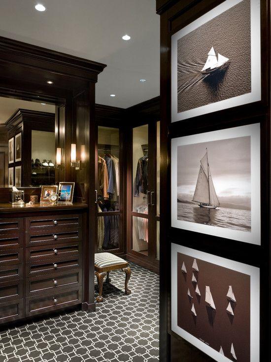 Traditional Closet | Storage Solution | Masculine Wardrobe Design