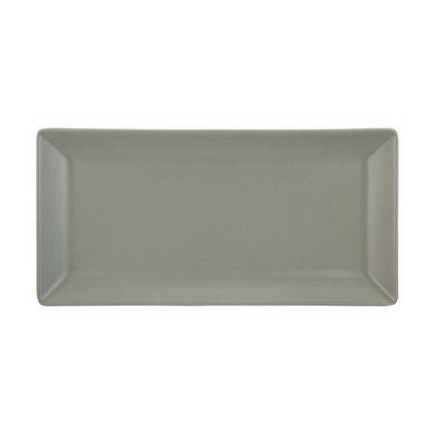 Matte Finish Serving Platter - Taupe $5.00