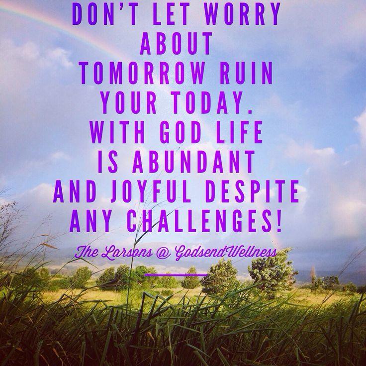 With God life is abundant!