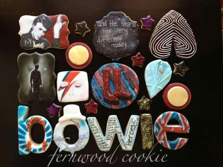 Bowie cookie by Fernwood