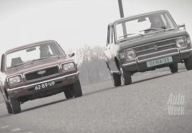 26-Apr-2013 8:17 - DUBBELTEST - MAZDA 818 VS. FIAT 128. De Mazda 818 en de Fiat 128. Twee auto's die de jaren 70 veel waar voor een scherpe prijs boden. De Mazda vertegenwoordigt de opkomst van de Japanse auto.De Fiat is van de 'oude…...