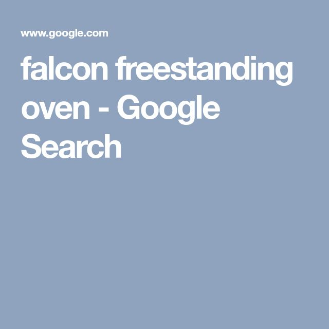 falcon freestanding oven - Google Search