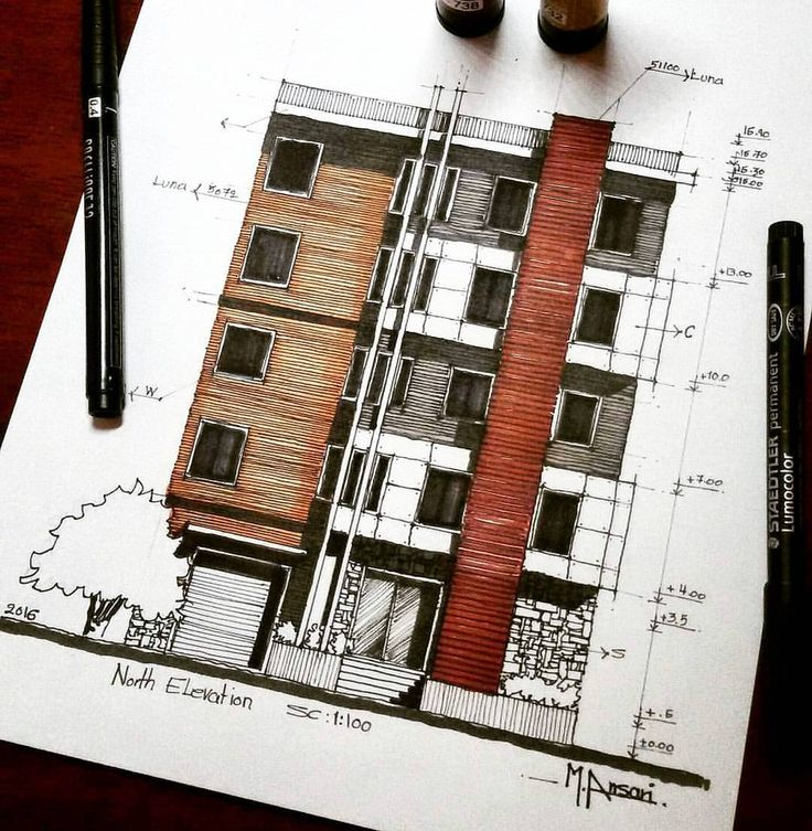 """3,100 curtidas, 11 comentários - A R C H I T E C T U R E ✏📐 (@arch_cad) no Instagram: """"_ • TAG YOUR ARCHITECTURE FRIENDS TO SEE THS WORK by @m.ansari.architect 😍👌 . #architecture…"""""""