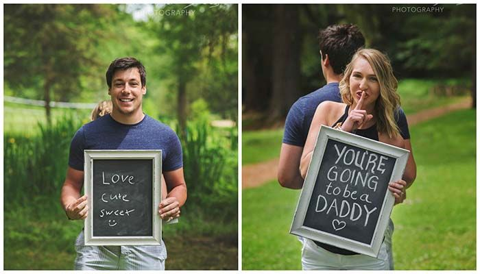 Dad-To-Be Surprised With Pregnancy Announcement At Photo Shoot