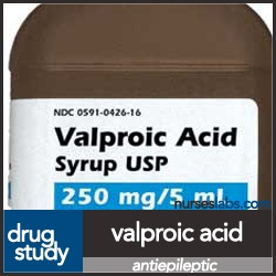 Nurse Labs: DS-Valproic Acid