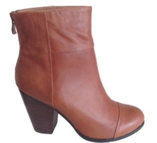 Lancaster Ankle Boot in Tan Leather by Alias Mae