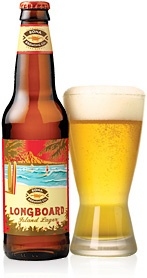 "KONA BEER ""LONG BOARD""   Exceptionally Smooth, Lager  keg for the Luau party:)"