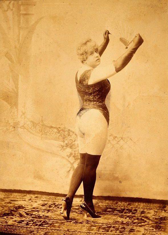 Boris Johnson is actually this 19th century cross-dressing prostitute