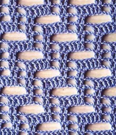 What an interesting stitch! Free chart pattern found at THIS...