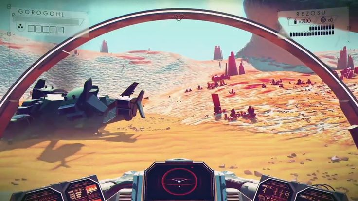 NO MAN'S SKY Gameplay (PS4)